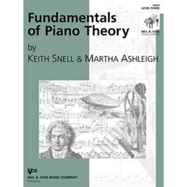 Kjos FUNDAMENTALS OF PIANO THEORY LEVEL 3