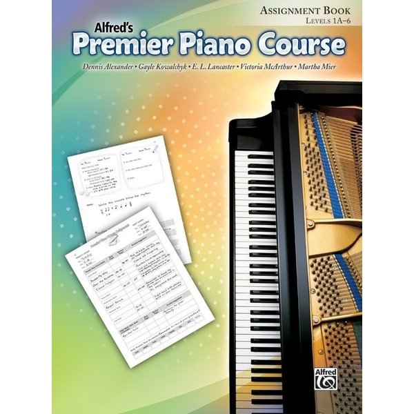 Alfred Music Premier Piano Course: Assignment Book