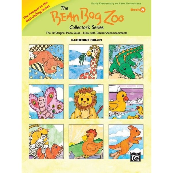 Alfred Music The Bean Bag Zoo Collector's Series, Book A