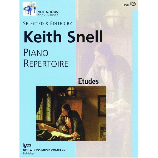 Kjos NAK PIANO LIBRARY: PIANO ETUDES LEVEL 2