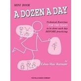 Willis Music Company A Dozen a Day Mini Book