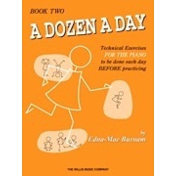 Willis Music Company A Dozen a Day Book 2