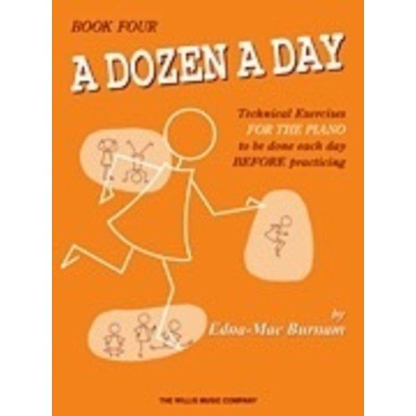 Willis Music Company A Dozen a Day Book 4