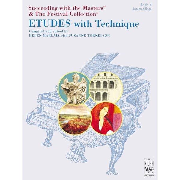 FJH Etudes with Technique, Book 4