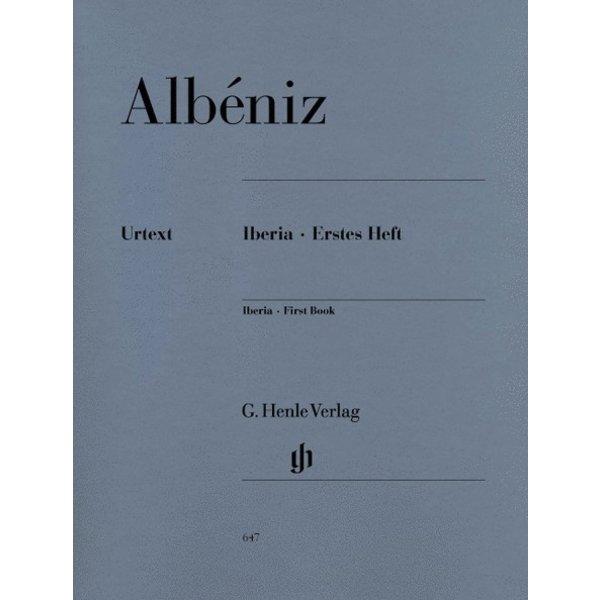 Henle Urtext Edition Albeniz - Iberia - First Book