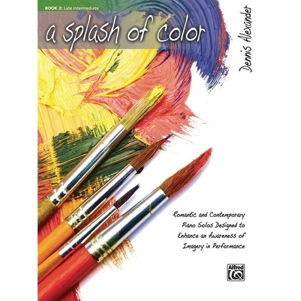 Alfred Music A Splash of Color, Book 3