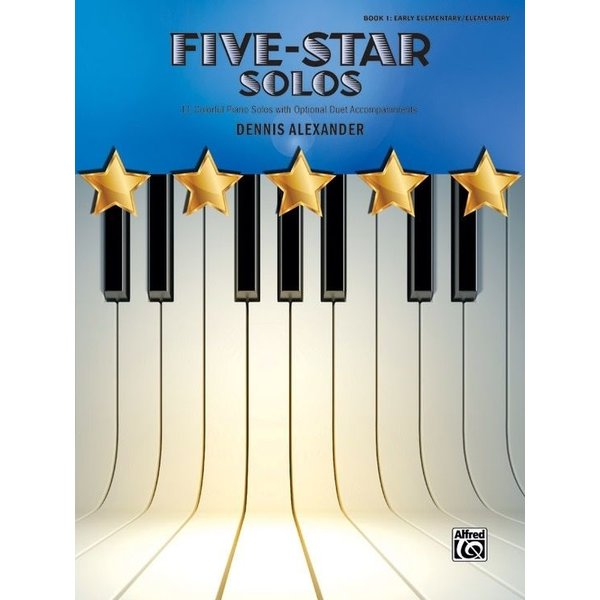 Alfred Music Five-Star Solos, Book 1
