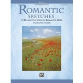 Alfred Music Romantic Sketches, Book 2