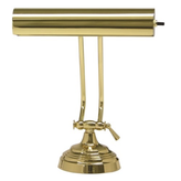 House of Troy Advent Polished Brass Piano Lamp