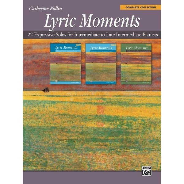 Alfred Music Lyric Moments: Complete Collection