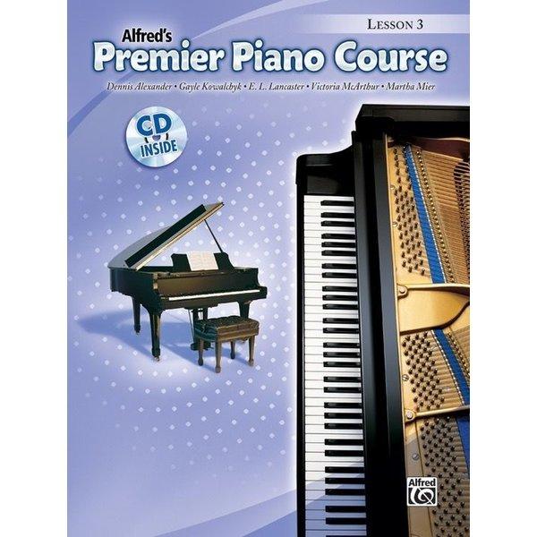 Alfred Music Premier Piano Course: Lesson Book 3 Book & CD