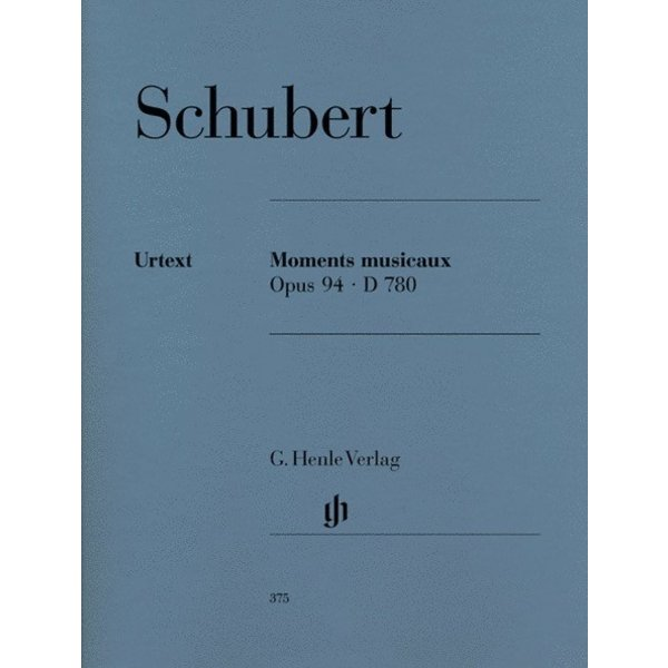 Henle Urtext Editions Schubert - Moments Musicaux Op. 94 D 780