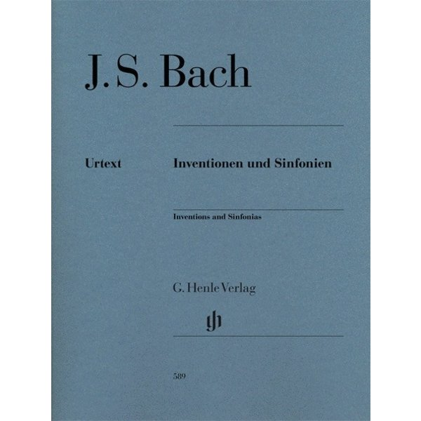 Henle Urtext Editions J.S. Bach - Inventions and Sinfonias