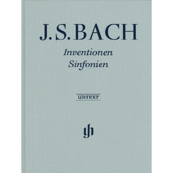 Henle Urtext Editions J.S. Bach - Inventions and Sinfonias Hardcover