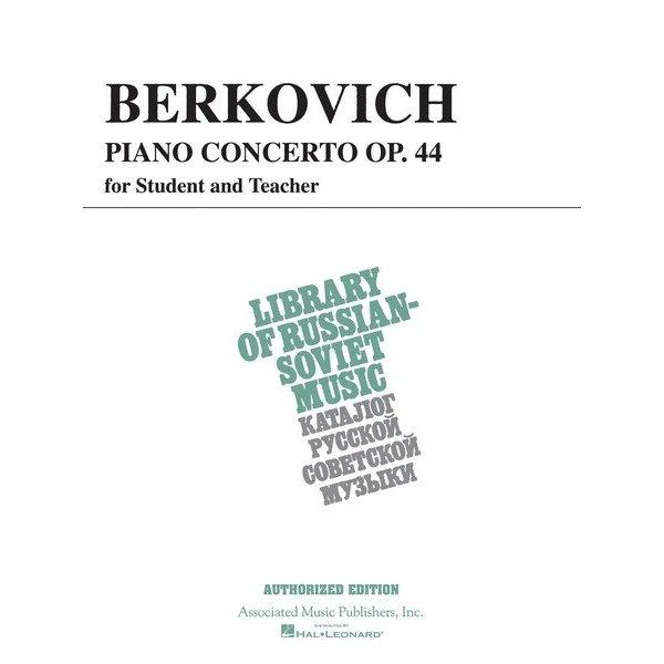 Schirmer Piano Concerto, Op. 44 (for student & teacher)