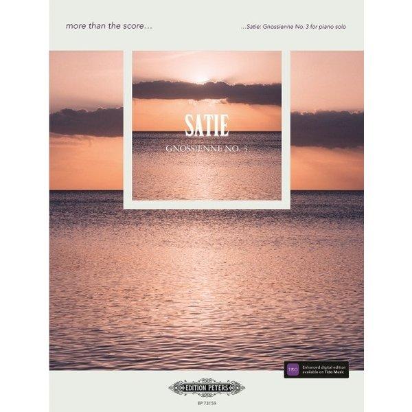 Edition Peters Satie - Gnossienne No. 3