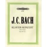 Edition Peters JC Bach - Piano Concerto In D Major, Op.13, No.2