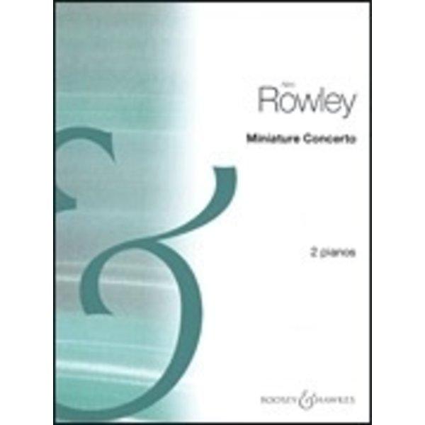 Boosey & Hawkes Rowley - Miniature Concerto