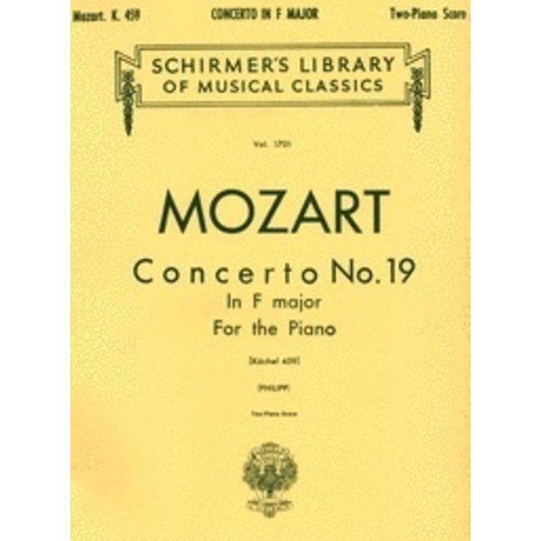 Schirmer Mozart - Concerto No. 19 in F, K.459