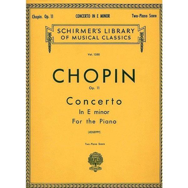 Schirmer Chopin - Concerto No. 1 in E Minor, Op. 11