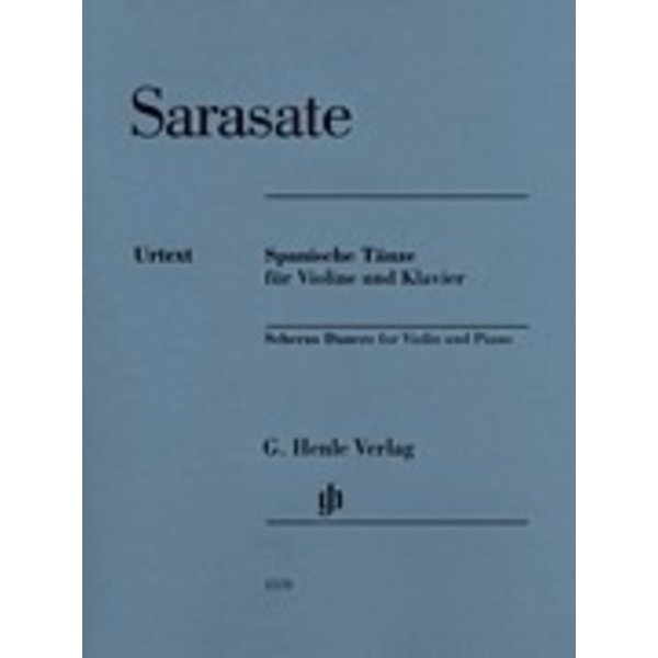 Henle Urtext Editions Sarasate - Spanish Dances Violin and Piano