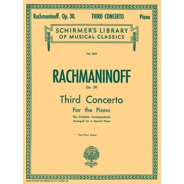Schirmer Rachmaninoff - Concerto No. 3 in D Minor, Op. 30