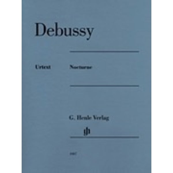 Henle Urtext Editions Debussy - Nocturne