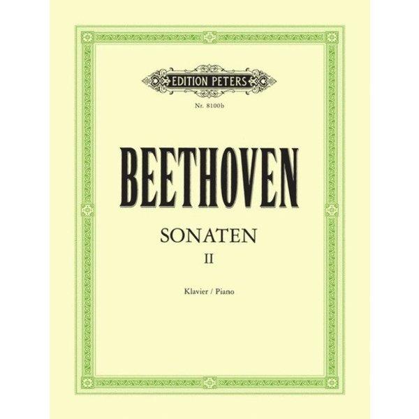 Edition Peters Beethoven - Sonatas, Volume II