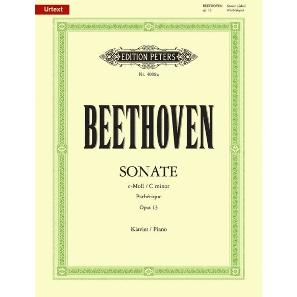 """Edition Peters Beethoven - Piano Sonata in d minor Op.31 No.2 """"Tempest"""""""