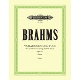 Edition Peters Brahms - Variations & Fugue on a Theme of Händel Op.24