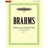 Edition Peters Brahms - Six Piano Pieces Op.118