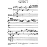 Edition Peters Beethoven - Concerto No.5 Opus 73 in Eb Major ('Emperor')