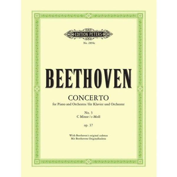 Edition Peters Beethoven - Concerto No. 3 in C minor Op. 37