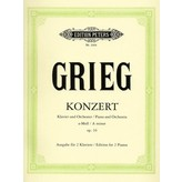 Edition Peters Grieg - Concerto in A minor, Op. 16