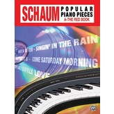Alfred Music John W. Schaum Popular Piano Pieces, A: The Red Book