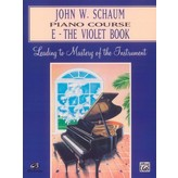 Alfred Music John W. Schaum Piano Course, E: The Violet Book