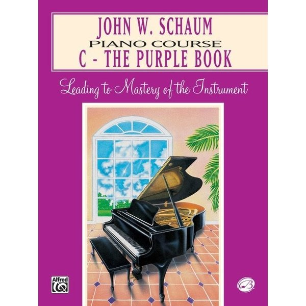 Alfred Music John W. Schaum Piano Course, C: The Purple Book