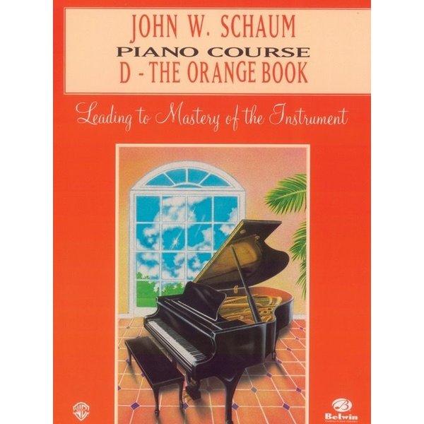 Alfred Music John W. Schaum Piano Course, D: The Orange Book