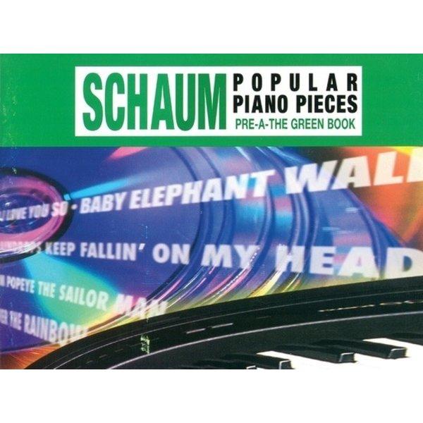 Alfred Music John W. Schaum Popular Piano Pieces, Pre-A: The Green Book