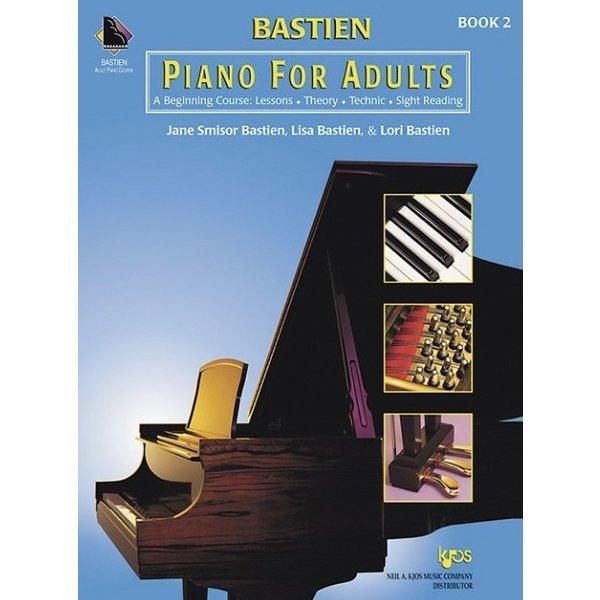 BASTIEN PIANO FOR ADULTS - BOOK 2 (BOOK & CD)