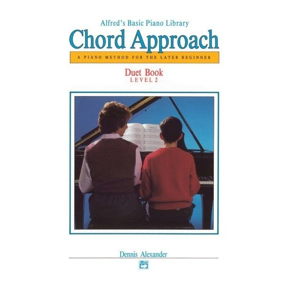 Alfred Music Alfred's Basic Piano: Chord Approach Duet Book 2