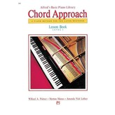 Alfred Music Alfred's Basic Piano: Chord Approach Lesson Book 1