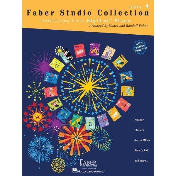 Hal Leonard Faber Studio Collection - BigTime Piano Level 4