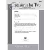 Alfred Music Treasures for Two, Book 1