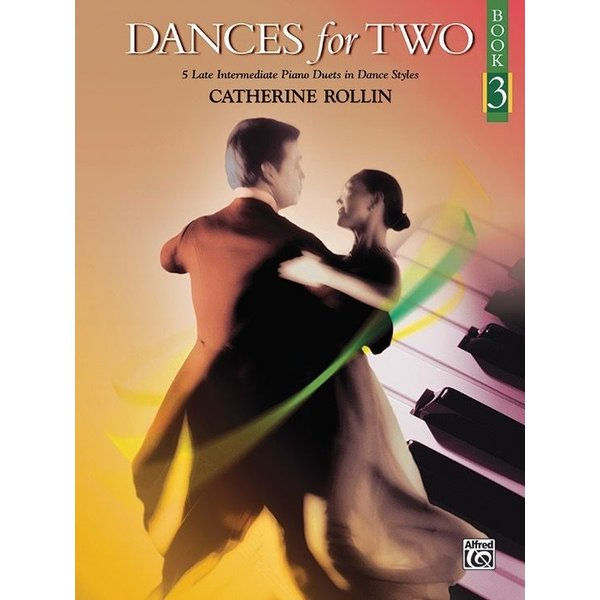 Alfred Music Dances for Two, Book 3