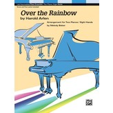 Alfred Music Over the Rainbow, 8 hands