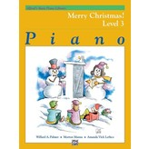 Alfred Music Alfred's Basic Piano Course: Merry Christmas! Book 3