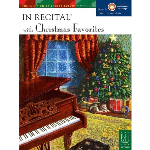 FJH In Recital with Christmas Favorites, Book 6