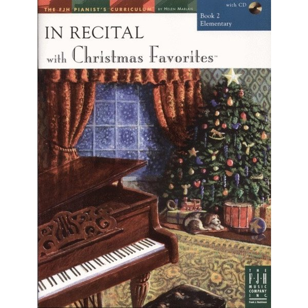 FJH In Recital with Christmas Favorites, Book 2