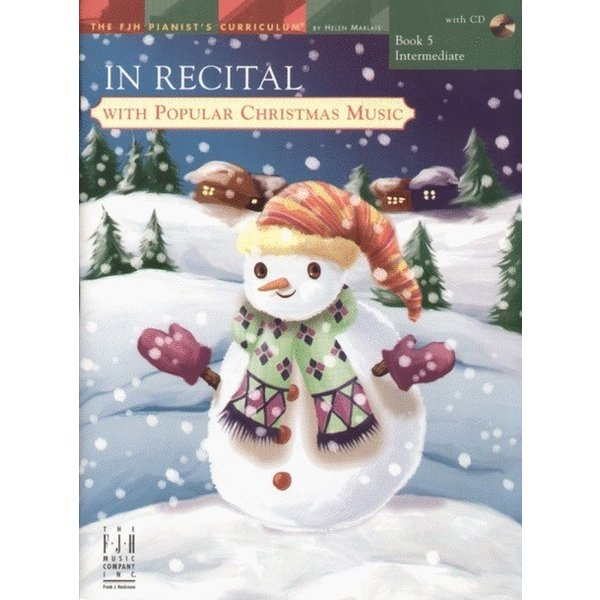 FJH In Recital with Popular Christmas Music, Book 5
